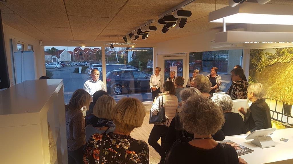 Besøg Nordfyns Erhverv og Turisme - Per Olesen viser rundt