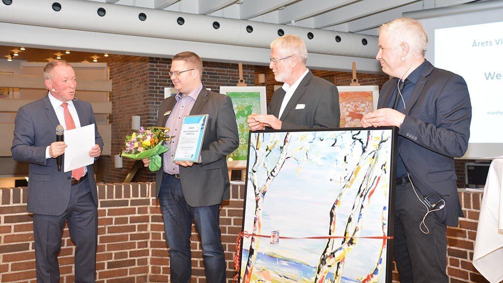 Årets virksomhed på Nordfyn 2018
