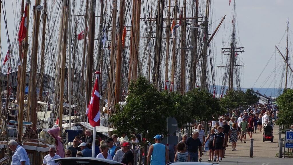 Fyn rundt for bevaringsværdige skibe til Bogense