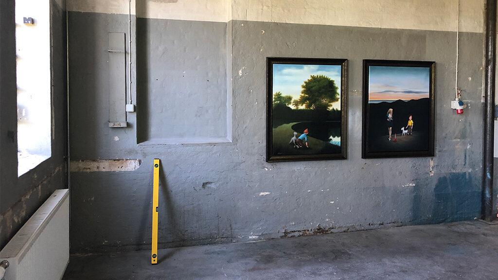 Ole Ahlberg udstilling på Otterup Geværfabrik