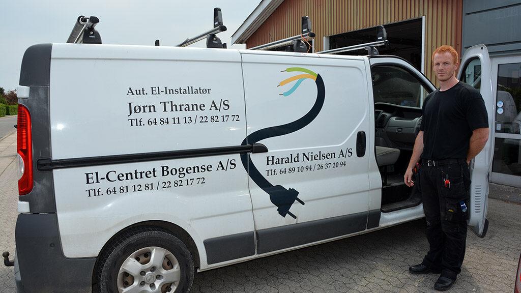 Harald Nielsen og tre brands