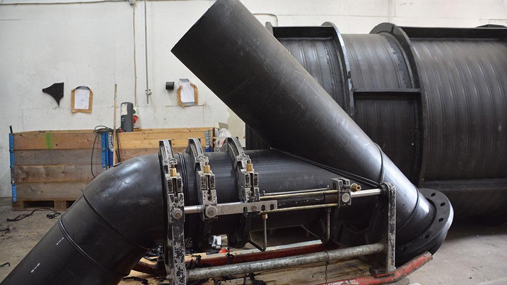 dansk industrimontage stål og plast