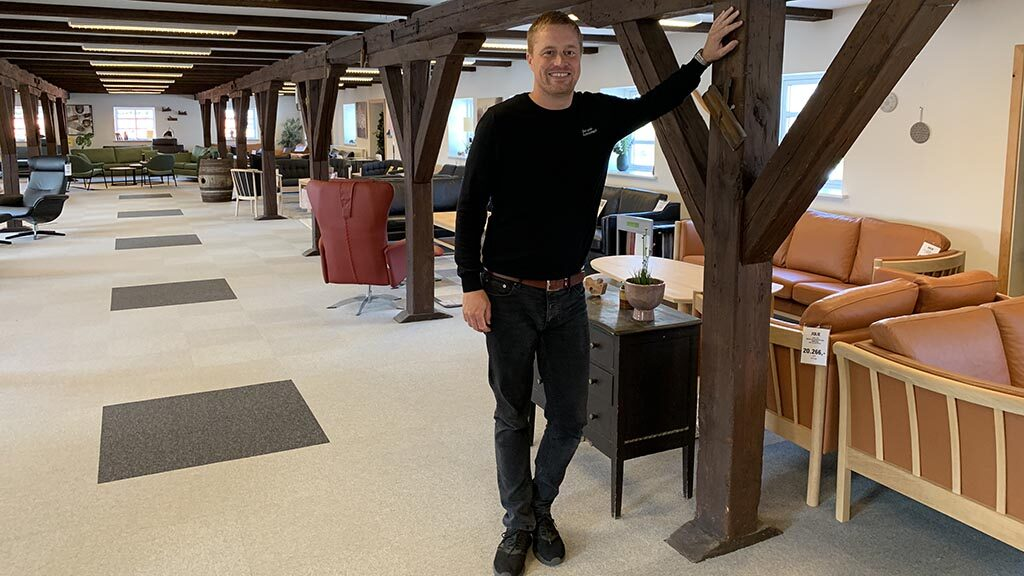 Anders ejer af Købmandsgården i Bogense