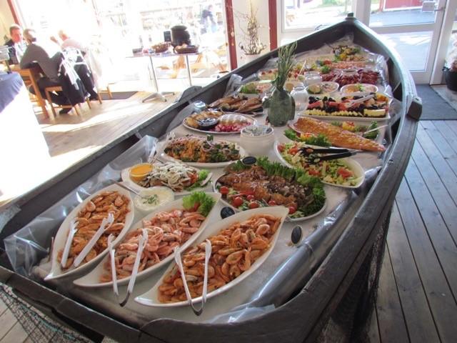 Fiskehuset Bogense buffet