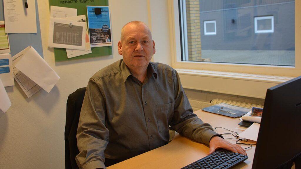 Jørgen Bårris fra Nordfyns Erhverv og Turisme